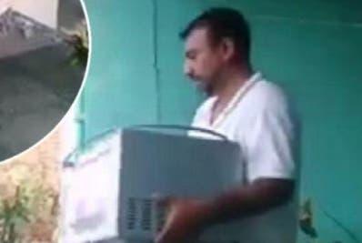 El descaro de sus familiares quedó plasmado en un video.