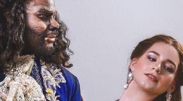 """Escena del musical """"La Bella y La Bestia""""."""