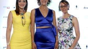 Ligia González, Carolina Leiva y  Jorgelina Durán.