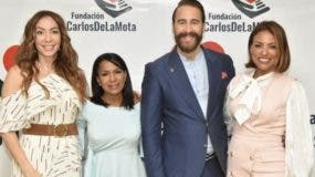Miralba Ruiz, Ynmaculada Cruz, Carlos de la Mota y Yokasta Diaz.