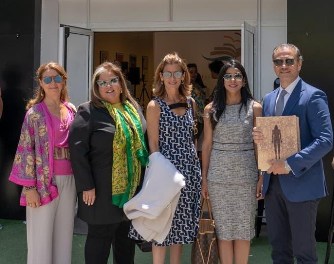 Ejecutivos del Grupo SID en la Feria del Libro de Madrid.