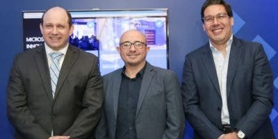 Herbert Lewy, Roberto Icasuriaga y Andrés Rengifo.