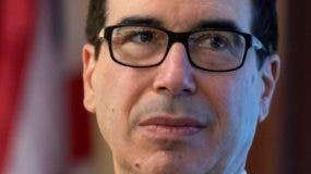 Secretario Steven Mnuchin.