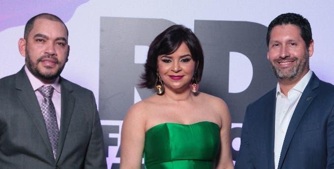 Aldo Rodríguez, Melkis Díaz y Alejandro Larrondo.