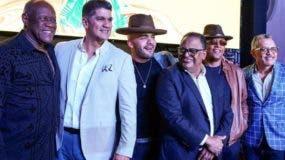 Johnny Ventura, Eddy Herrera, Gabriel, Wilfrido Vargas, Sergio y Rafa.