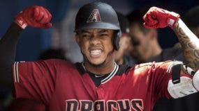 Ketel Marte ligó el jonrón 27 para Arizona D-Backs. ad