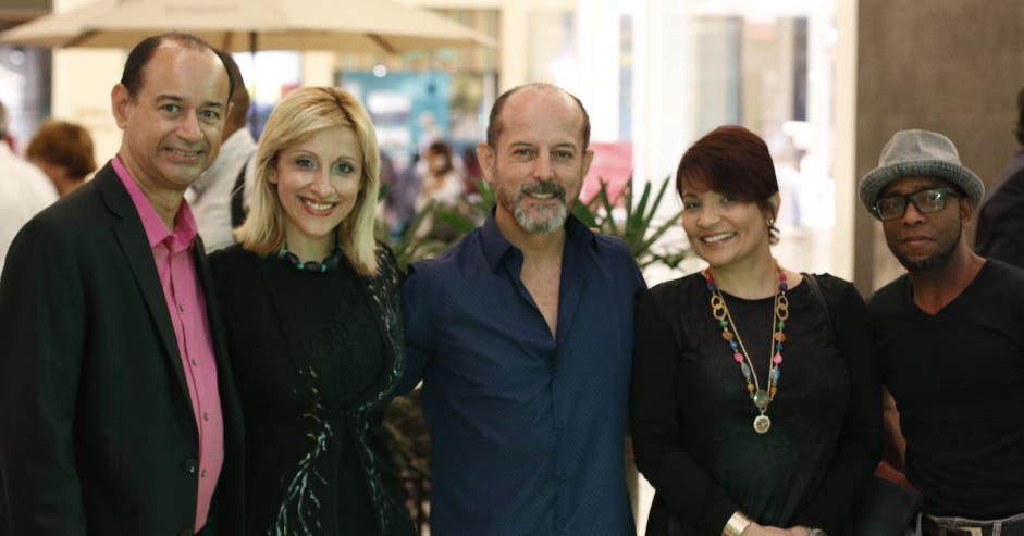 Enriquillo Amiama, Vivi Kieffer, Luis Zegarra, Ana Núñez y Nelson Restituyo.