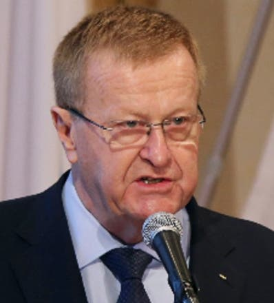 John Coates, miembro del Comité Olímpico Internacional.
