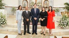 Addys Mercedes, Héctor Batista, José Antonio Olivero Febres-Cordero, Lorena Dap y Mónica Acosta