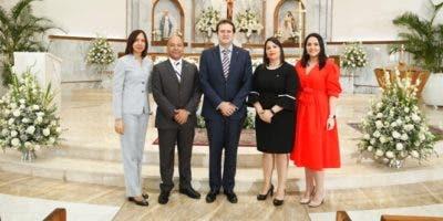 Addys Mercedes, Andrés Rodríguez, Bismark Alcántar y Lorena Dap.