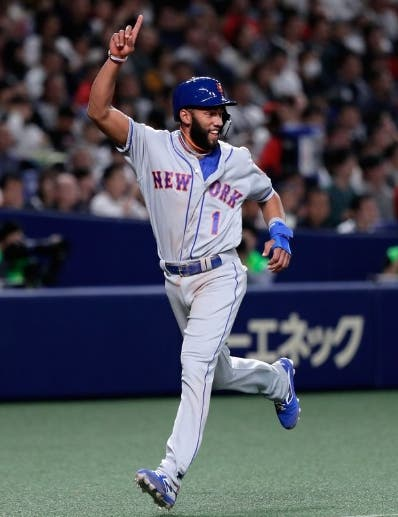 El dominicano Amed Rosario está cotizado con los Mets.  AP