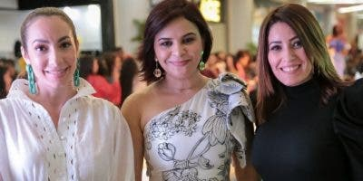 Miralba Ruiz, Melkis Díaz y  Eglee Heredia.