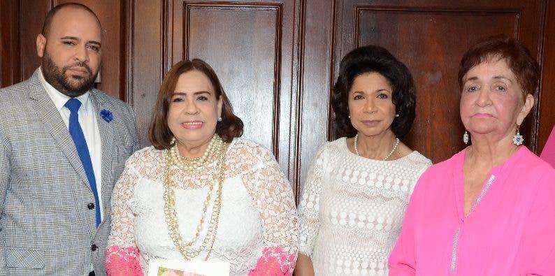 José Gregorio Calderón, Mirna Pimentel, Rhina Ibert  y Margarita Mendoza.