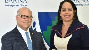 Eduardo Grullón y  Jeanne Marión-Landais.