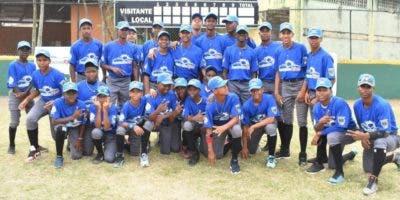 Equipo  Básima, campeón torneo  béisbol RBI.  fuente externa