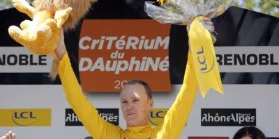 El pedalista inglés  Chris Froome no podrá participar este año en el Tour de Francia.