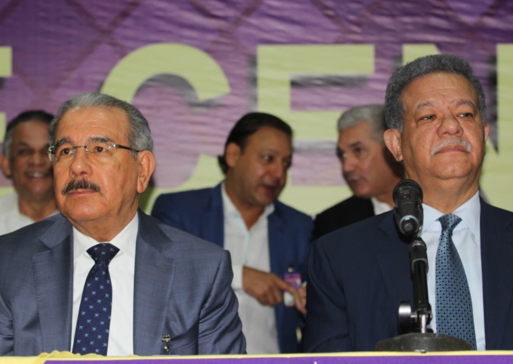Las diferencias internas en el PLD se han agudizado en los últimos meses entre las facciones que lideran Medina y Fernández.