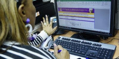 El partido oficialista  realizó  ayer un simulacro  de inscripción de candidaturas.   Elieser Tapia.