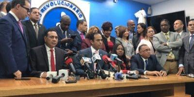 El bloque de diputados habló del tema durante una rueda de prensa.