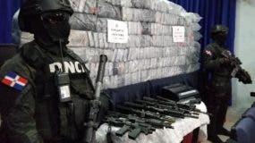 Droga decomisada en operativo en El Seibo.  fuente externa