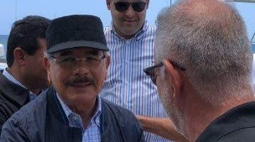 Danilo Medina encabezó recorrido.  FUENTE EXTERNA