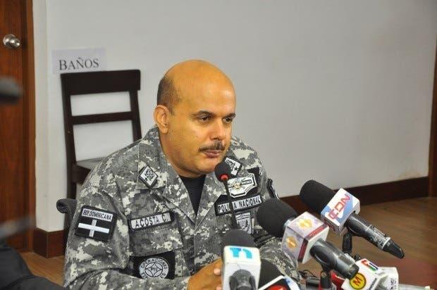 General José Acosta Castellanos es sustituido de la Dirección del Cibao