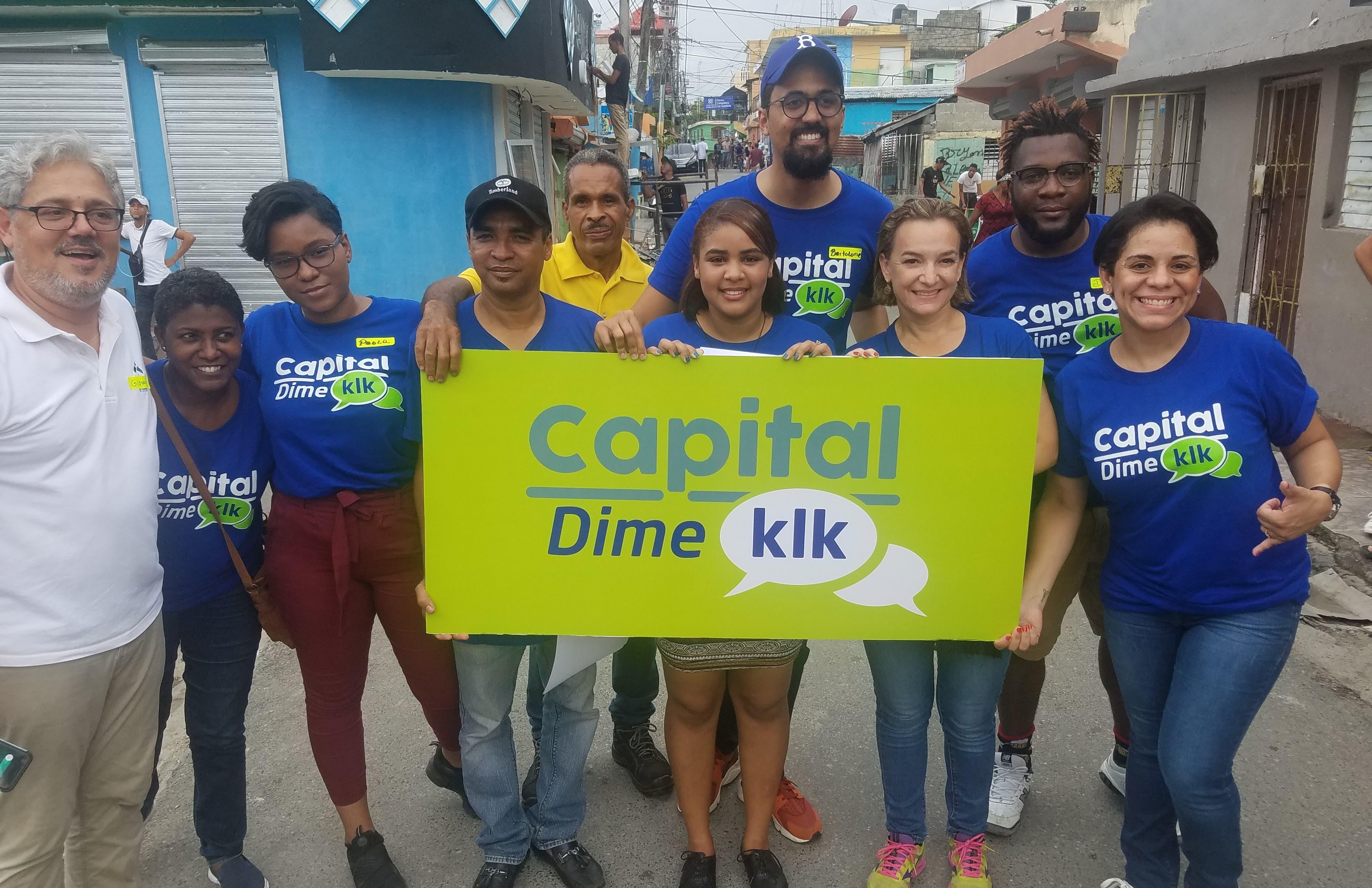 "El aspirante a alcalde lanza consulta ciudadana ""Capital dime klk"""