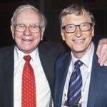 Warren Buffett y Bill Gates son dos de los hombres más ricos del planta. Y también son amigos.