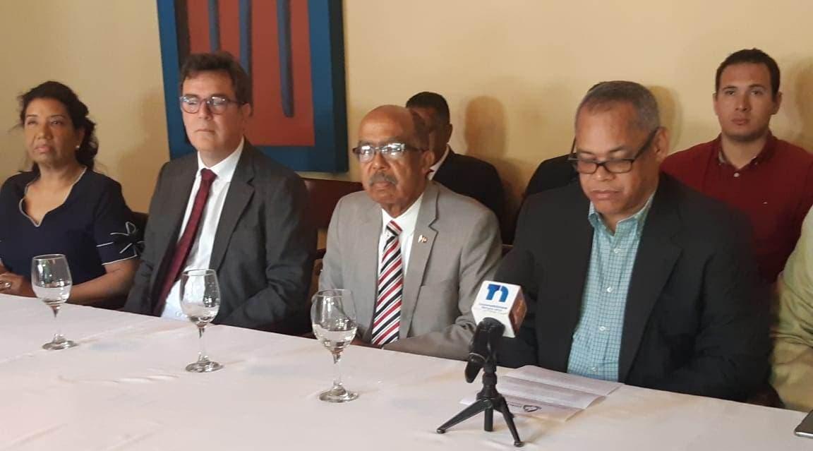 Coalición convoca a manifestación pacífica en el Congreso Nacional