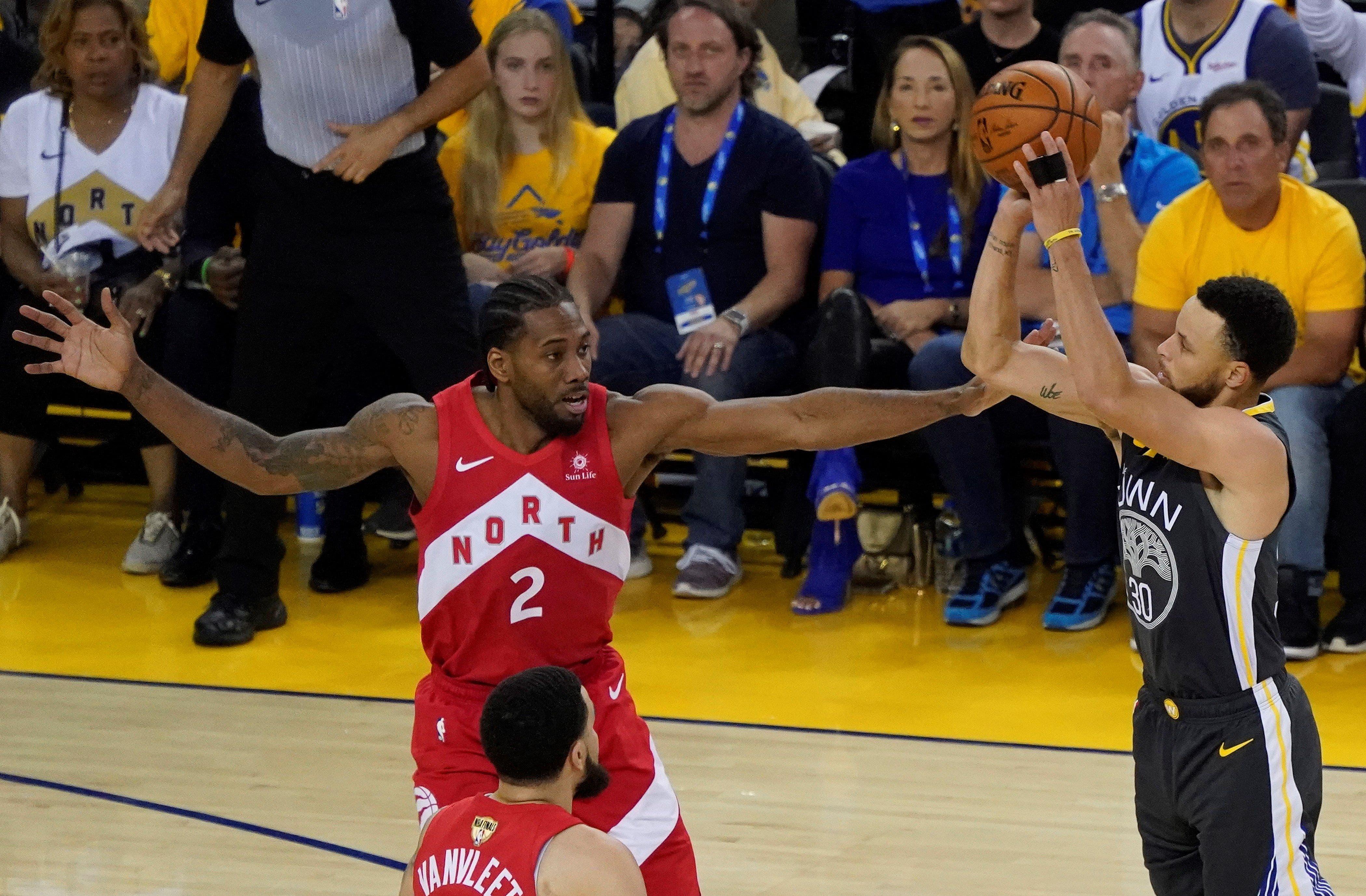 Leonard y Raptors, a una victoria del título de la NBA