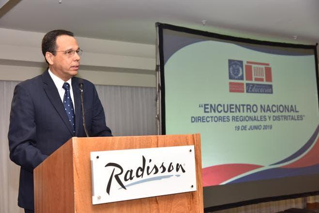Ministro Antonio Peña Mirabal.