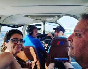 Los ocupantes de la avioneta desaparecida.