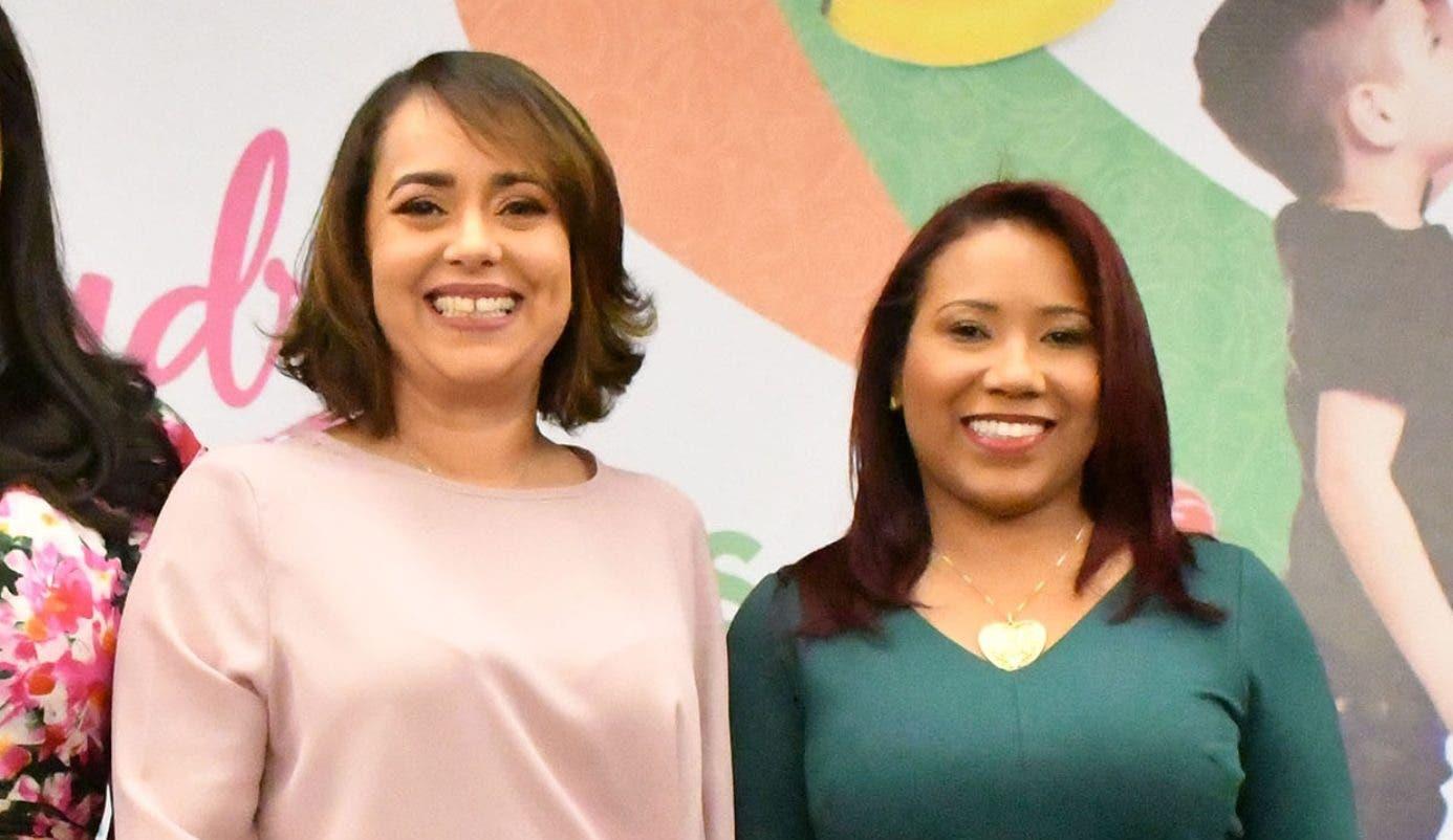 Nazzira Santana e Isaura Cornelio.