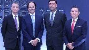 Homero González, Imanol Orue Echevarría, José Antonio Cabrera y  Juan Felipe Muñoz.
