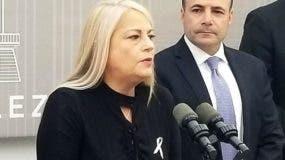 Wanda Vásquez, en un acto oficial en la foto, ha sido secretaria de Justica de Puerto Rico desde enero de 2017.