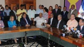 Los integrantes del Comité Político que siguen a Medina son mayoría en ese organismo.  Nicolás Monegro
