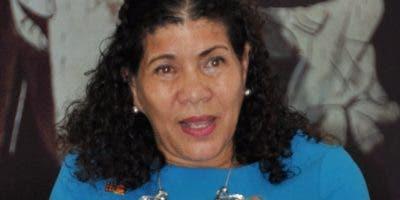 Sonia Vásquez,  del Fondo de Población de  las Naciones Unidas.  Carolina Fernández