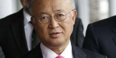 Yukiya Amano murió ayer a la edad de 72 años.