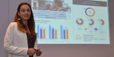 Isabel García durante la presentación del informe de Desempeño Social 2018: Midiendo lo que realmente importa.  AGENCIA FOTO