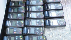 La incautación de equipos utilizados en bancas  que operan ilegalmente es frecuente.  FUENTE EXERNA