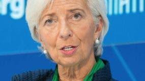 Christine Lagarde, del FMI.