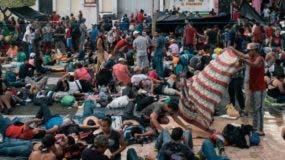 Desde mediados de octubre de 2018 se vive en México  un aumento inusitado de migrantes.