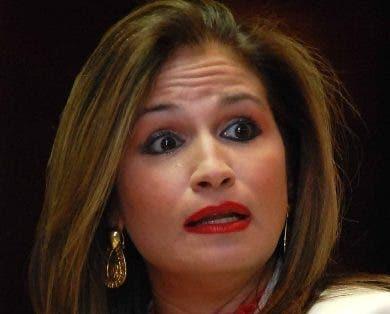 Circe Almánzar, vicepresidenta de la AIRD.  archivo