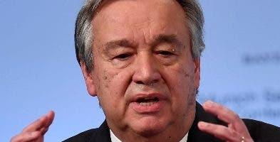 António Guterres secretario general de la ONU.
