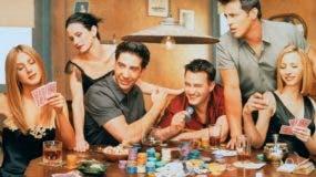 """Una escena de la serie de televisión """"Friends""""."""