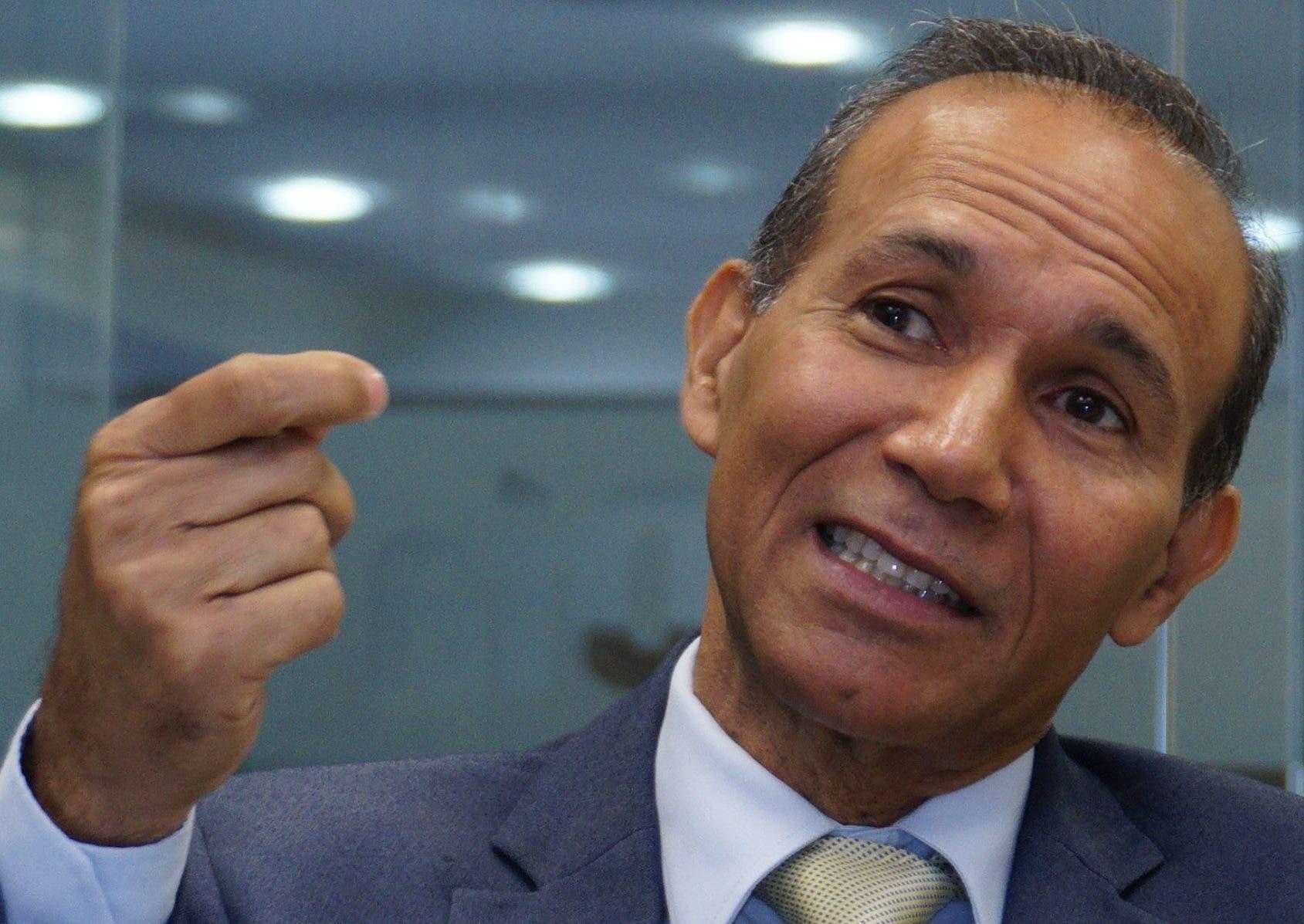 Winston Santos Ureña, ministro de Trabajo,  abogado de profesión que tiene una visión clara de sus compentencias.  ElieSer Tapia