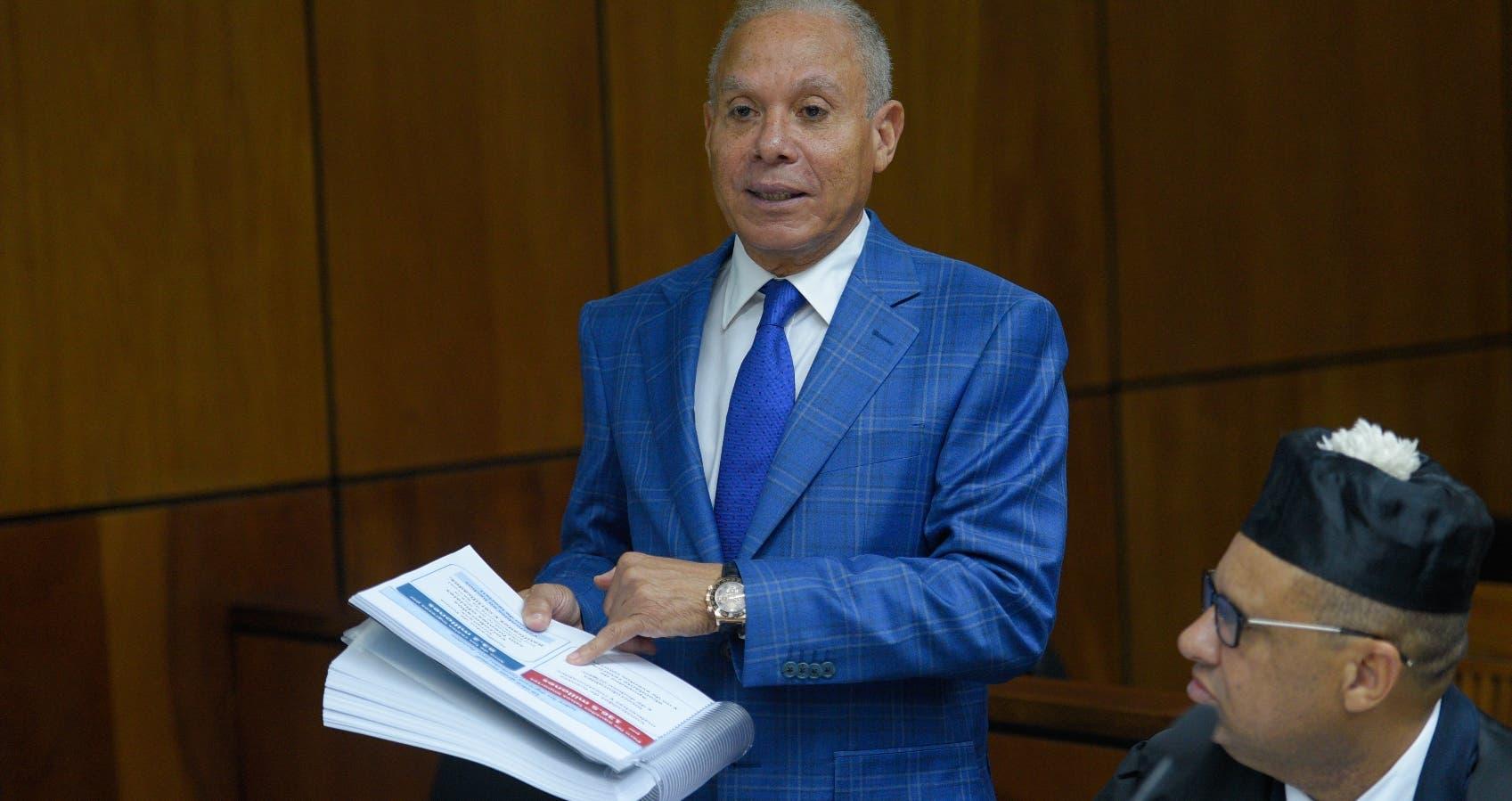 Ángel Rondón, uno de los imputados.  ARCHIVO