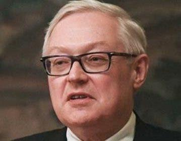Serguéi Riabkov, vicecanciller de Rusia.