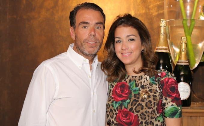 José Manuel González y María Josefina Cabral.