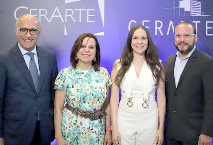 Ángelo Viro, Rosario de Viro, Rosángela Viro y Orazio Viro.